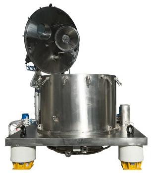 centrifugeuse verticale dechargement par le fond TM S-IV chimie